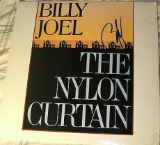 "Billy Joel Signed Autograph ""the Nylon Curtain"" Original Vinyl Album Lp With Coa"