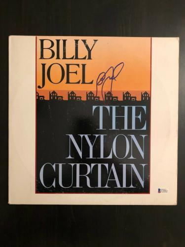 Billy Joel Signed Autograph - Vinyl Album Record Lp - The Nylon Curtin B Beckett