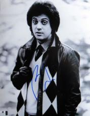 Billy Joel Signed Autographed 11X14 Photo Classic Vintage Leather Jacket 806547
