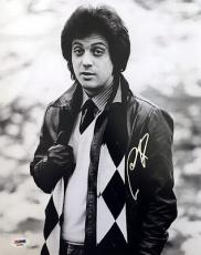 BILLY JOEL SIGNED AUTOGRAPHED 11x14 PHOTO RARE YOUNG IMAGE PIANO MAN PSA/DNA