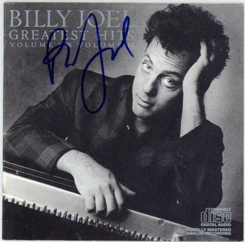 Billy Joel Signed Autographed Greatest Hits CD JSA Authentic Near Mint Piano Man