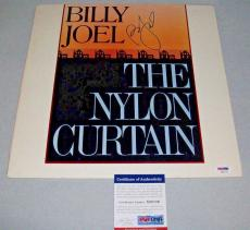 "BILLY JOEL signed autographed ""NYLON CURTAIN"" LP RECORD PSA/DNA COA! ALLENTOWN"