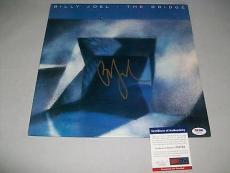 "BILLY JOEL signed autographed ""THE BRIDGE"" LP RECORD PSA/DNA COA! PIANO MAN!"