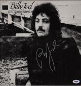 Billy Joel Signed Cold Spring Harbor Record Album Psa Coa Ad48279