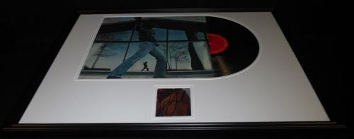 Billy Joel Signed Framed 18x24 Glass Houses 1980 Record Album Display