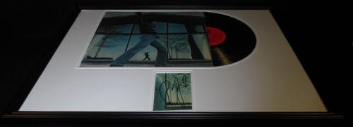 Billy Joel Signed Framed 18x24 Glass Houses 1980 Record Album Display B