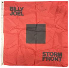 Billy Joel Signed ins Cheers! 36x36 Storm Front banner Flag autograph psa dna