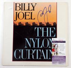 Billy Joel Signed LP Record Album The Nylon Curtain w/ JSA AUTO