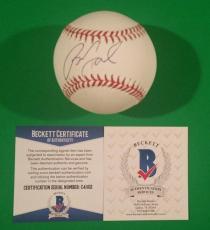 Billy Joel Signed Official Major League Baseball + Photo Proof & Bas Beckett Coa