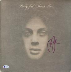 Billy Joel Signed Piano Man Album Cover W/ Vinyl BAS #C19966