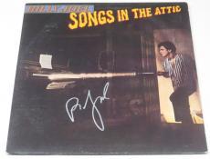 Billy Joel Signed Songs In The Attic Vinyl Album Lp Authentic Autograph Coa