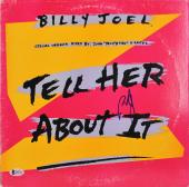 Billy Joel Signed Tell Her About It Album Cover W/ Vinyl BAS #D05711