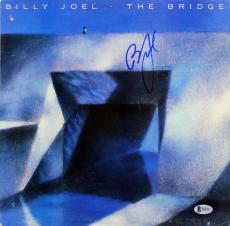Billy Joel Signed The Bridge Album Cover Autographed BAS #B18221