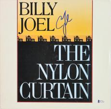 Billy Joel Signed The Nylon Curtain Album Cover BAS #D17910