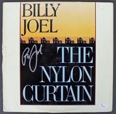 Billy Joel Signed The Nylon Curtain Album Cover W/ Vinyl JSA #K47827