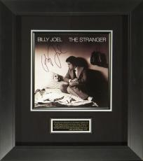 Billy Joel Signed The Stranger Album Flat Framed Display