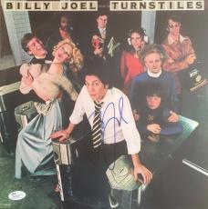 BILLY JOEL signed/autographed Turnstiles Album  w/ vinyl -JSA #R31670