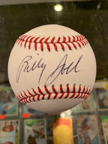 Billy Joel Singer Songwriter The Piano Man Single Signed Baseball Jsa