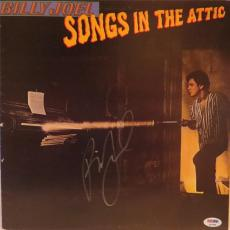 Billy Joel Songs In The Attic Signed Autographed Album Psa/dna S16888