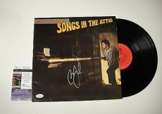 "Billy Joel ""songs In The Attic"" Signed Record Album Lp Jsa Coa K42488"