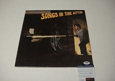 "Billy Joel ""songs In The Attic"" Signed Record Album Lp Psa/dna U34005"