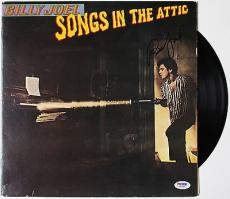 "Billy Joel ""songs In The Attic"" Signed Vinyl Record Album Psa/dna Coa W46886"