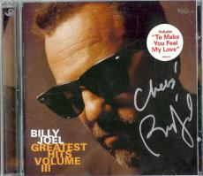Autographed Billy Joel Signed CD