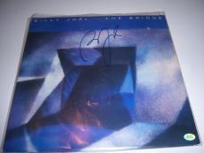 Billy Joel The Bridge,famous Singer Td/holo Signed Lp Record Album