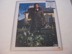 Billy Joel The Piano Man Famous Singer Td/holo Signed 11x14 Magazine Photo