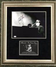 BILLY JOEL-The Piano Man signed/autographed photo custom framed display-JSA