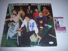 Billy Joel Turnstiles Jsa/coa Signed Lp Record Album