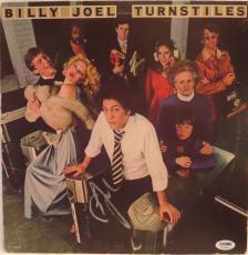 Billy Joel Turnstiles Signed Autographed Album Psa/dna S16894