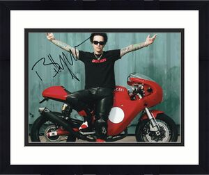 Billy Morrison Signed 8x10 Photo w/COA Singer Billy Idol Diablo Camp Freddy