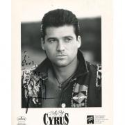 Billy Ray Cyrus Autographed 8x10 Photo