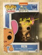 Billy West Signed Autographed Ren Funko Pop Ren And Stimpy JSA COA