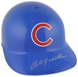 Billy Williams Autographed Chicago Cubs Batting Helmet  - Mounted Memories