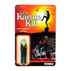 Billy Zabka Signed Karate Kid Johnny Funko Reaction Collectible Toy Figure