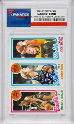 Larry Bird Boston Celtics Autographed 1980-81 Topps #232 Card - Mounted Memories