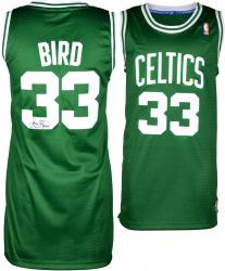 Larry Bird Boston Celtics Autoraphed Adidas Swingman Jersey