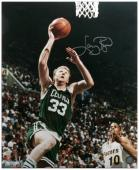 Boston Celtics Larry Bird Autographed Photo - - - Mounted Memories