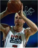 """Larry Bird USA Team Autographed 8"""" x 10"""" Closeup Photograph"""