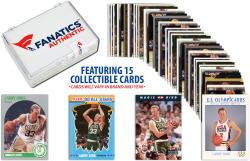 Larry Bird Boston CelticsCollectible Lot of 15 NBA Trading Cards - Mounted Memories