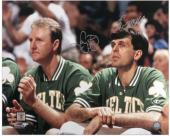 "Boston Celtics Larry Bird and Kevin McHale Autographed 16"" x 20"" Photo - Mounted Memories"