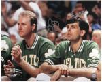 "Boston Celtics Larry Bird and Kevin McHale Autographed 16"" x 20"" Photo"