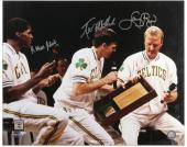 "Boston Celtics Bird, McHale, and Parish Autographed 16"" x 20"" Photo"