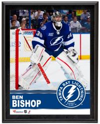 "Ben Bishop Tampa Bay Lightning Sublimated 10"" x 13"" Plaque - Mounted Memories"
