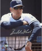 "Bud Black San Diego Padres Autographed 8"" x 10"" Leaning Photograph"