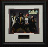 Black Eyed Peas Autographed Framed 11x14 Photo