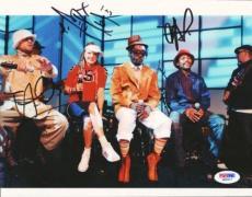 Black Eyed Peas Autographed Signed 8x10 Photo PSA/DNA #Q89517