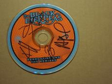 Black Eyed Peas Autographed The Renegotiations Remixes Cd Will.i.am Signed